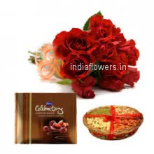 Red Roses Chocolate Celebration