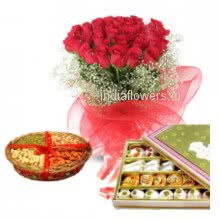 Flowers Mithai Dryfruits