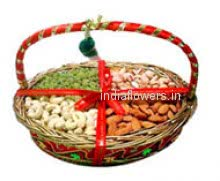 Basket of 2 Kg Mixed dry fruits.