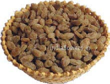 Pack of 1 Kg. Raisins - Kismis. Basket is not included