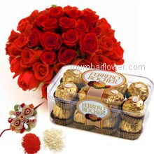 Rakhi Roses Chocolates