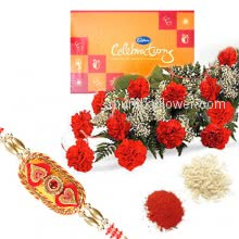 Rakhi Flowers Celebration