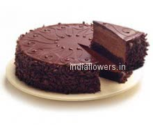 Super Yummy 4 Star Grade Chocolate Truffle Cake from top bakers 1kg. or 2 pounds
