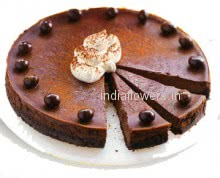 1 Kg. Chocolate Cake. From childhood and as i grow , I always wish for a Chocolate Cake. Get this 1 Kg. Chocolate Cake delivered to your loved ones.