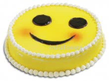 Give smile , bring smile , spread smile. Just to say happiness similey. Send 1 kg. Smile Cake.