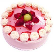 1 Kg. Strawberry Cake