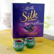 Diya Silk Hamper