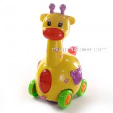 Giraffe Toy with lights and cute music, lovely gifts for baby of 3 to 8yrs