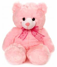 Pink Color Teddy Size 15 Inch approx