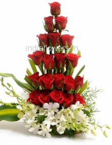 Red Roses arrangment