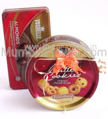 Box of Vochelle Chocolates 180g. and Danish Cookies 400g. Combo