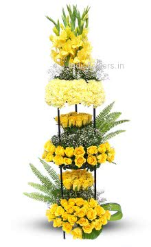Tall Yellow Arrangement